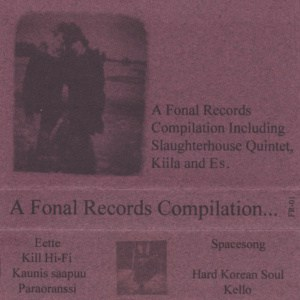 FR-01 Various Artists: A Fonal Records Compilation... Cassette / Digital (1996)